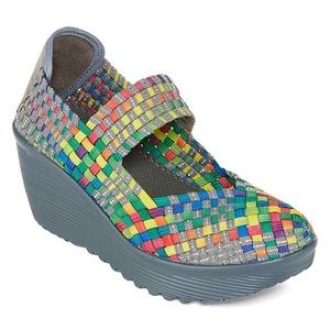 St. John's Bay Karma Rainbow Shoes